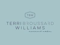 Terri Broussard Williams brand design