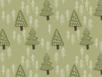 Winter forest pattern
