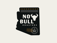 No Bull Roasters – brand graphics