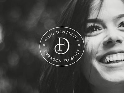 Finn Dentistry brand design dental dentist logo dentist design logo logo design brand design branding