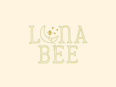 Luna Bee Children's Boutique | Brand Design boutique logo childrens boutique bee moon design logo logo design brand design branding