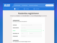 GETYOURWORKER / Registration