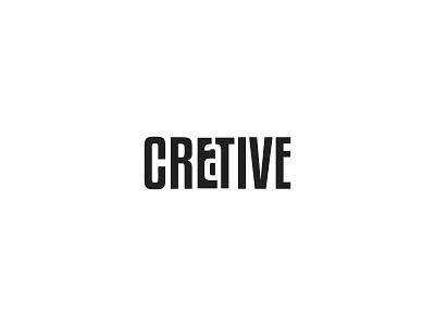 Creative negative space logo creative