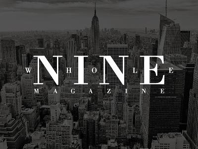 WHOLE NINE glamour nine magazine
