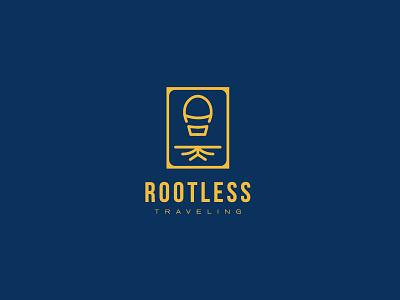 ROOTLESS rootless root traveling blog logo travel