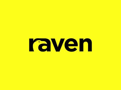 raven negative space raven