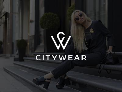CITYWEAR fashion urban design logo minimalist