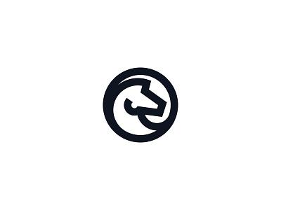Horse Mark icon minimalist mark logo horse