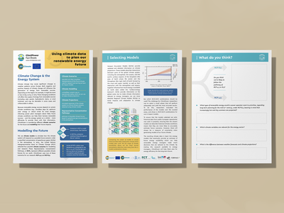 Climate Modelling Fact Sheet curriculum renewable energy research modelling climate worksheet fact sheet