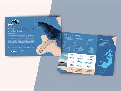 JONAS Leaflet/Flyer flyer research underwater noise