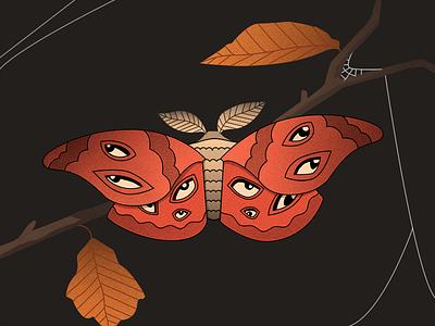 Spooky Moth spooky halloween moth