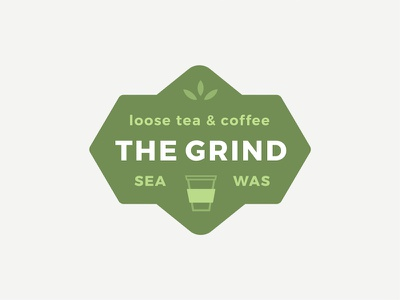 Thirty Logos #2 : The Grind seattle tea coffee the grind thirty logos
