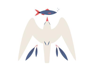 Tern fish bird seabird tern