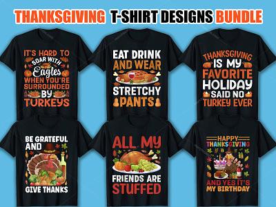 Thanksgiving T-Shirt Designs Bundle apparel ootd clothes love hoodie streetwear shirt kaos moda clothing style tshirts tshirtdesign fashion tshirt illustration design typography vector