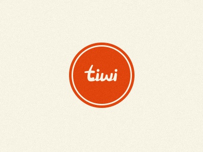 tiwi tiwi logo logotype typography type lettering