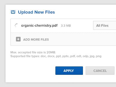 Upload New Files