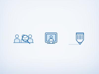 Online Tutoring Pictograms tutor universe education tutoring online search screen pencil icon