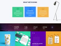 Concept of service box & portfolio