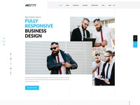 Creative Banner Concept For Hefty Multipurpose WordPress Themes