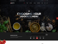 Food & recipe Banner Concept For Hefty Multipurpose Themes