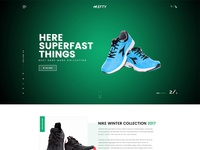 Online Shoe Store Homepage Concept For Hefty Multipurpose Themes
