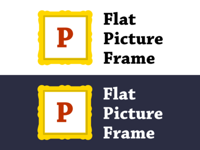 Flat Picture Frame