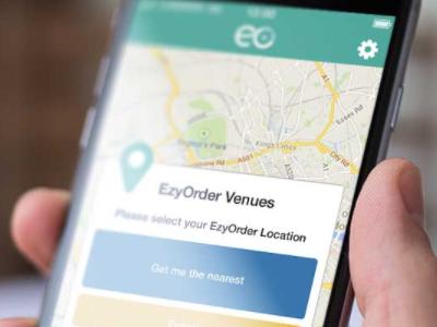 EzyOrder website design