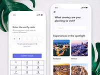 Travel App WIP
