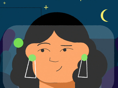 Lime - drunk test app motion graphic motion design escooter branding girl vector animation gif future character illustration