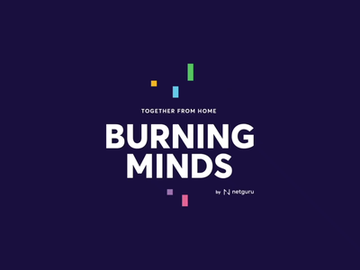 Burning Minds workshops remote work remote motion graphics loop vector motion girl animation design future character illustration abstract