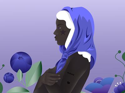 Blooming woman vector pregnancy mama mother character illustration illus motherhood