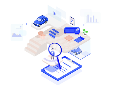 Illustrations 2019 storytelling diagrams car isometry isometric plants gif character design motion loop animation illustration