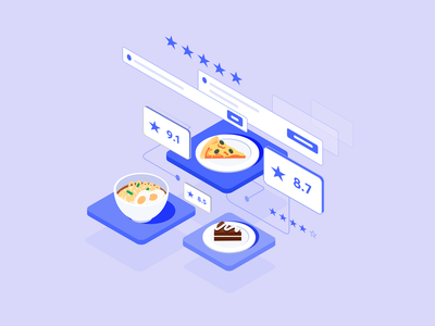 Food food app app pizza food web design typogaphy product design print mobile design systems branding design future animation illustration outline abstract vector isometric