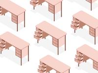 Desks pattern