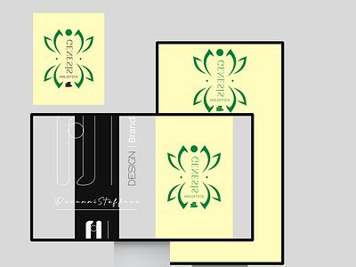 """Genesis Holistics Grenada"" wellness beauty illustration branding design art"