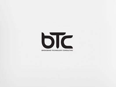 BTC - Logo Design digital lemun design logo consulting technology broadband btc