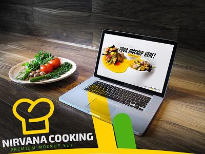 Nirvana Cooking - Mockup Cover food lemun digital creative cover mockup cooking nirvana