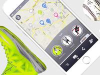 SportsMap - UI/UX