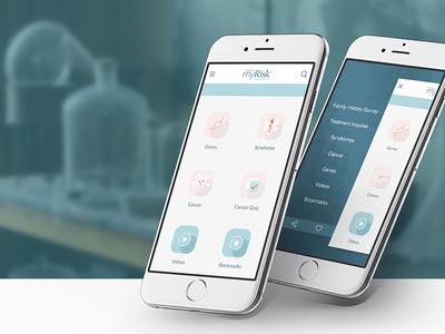 MyRisk - App UI/UX bulgaria lemun digital mobile design interface ux ui app myrisk