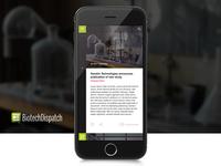 BiotechDispatch - App UI/UX