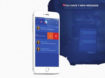 Instapray - App UI/UX church blue design lemun digital ux ui pray interface instapray
