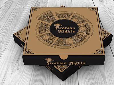 Pizza Box Design 1.1 food packaging packaging design packaging pizza box box design branding graphic design