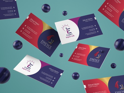 Business Card business card template expert input ltd essence educare both side business card duel logo business card duel company duel co. business card business card