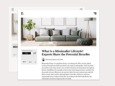 blog post design graphic design adobexd blog post design app ux branding design ui
