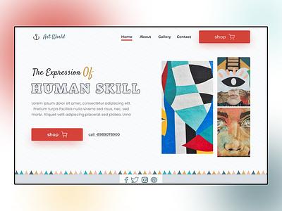 hero section ui design dailyux 3d logo motion graphics animation illustration graphic design branding app ui design ux