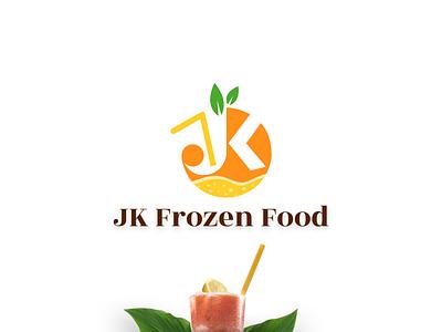 Logo design for Frozen Food frozen food food logo