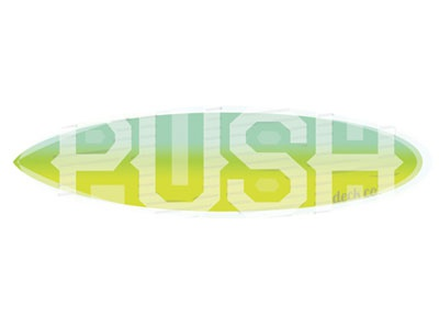 Push Decks font play longboards