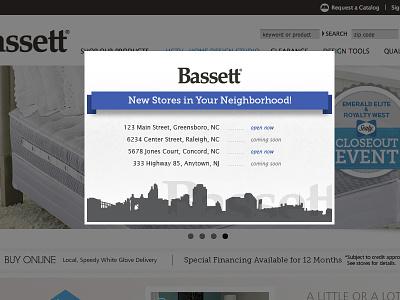 New Store Lightbox Design lightbox pop-up geolocation