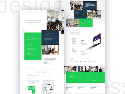 Iguana Redesign features design web inventory branding ux ui motion website