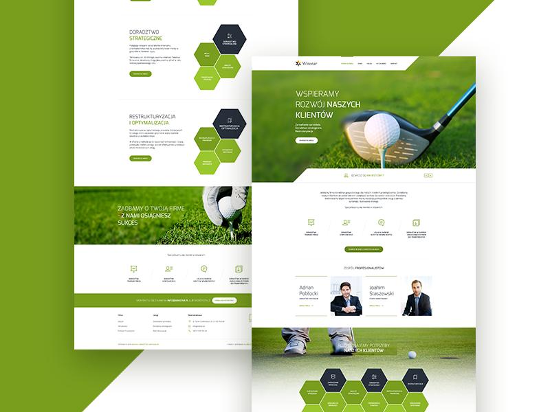 Winstar Design Layout web webdesign simple creative ux ui lab iguana screen website design clean